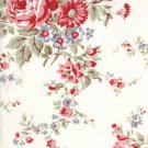 Tanya Whelan Ava Rose Grey Kitchen Rose Fabric 1 Yard