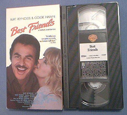 BEST FRIENDS~VHS~BURT REYNOLDS~GOLDIE HAWN~1982 ROMANCE
