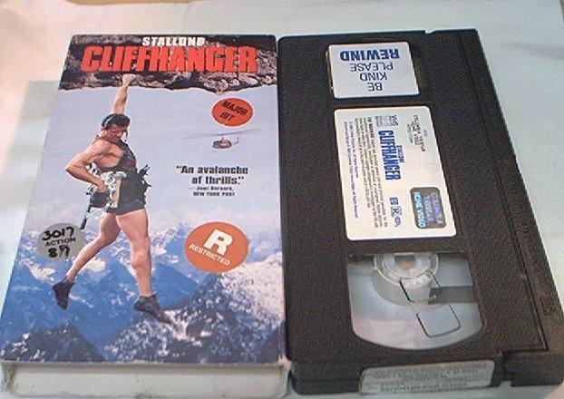 CLIFFHANGER~VHS~SYLVESTER STALLONE~JOHN LITHGOW~JANINE TURNER~1993