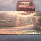 THOMAS KINKADE~JIGSAW PUZZLE~SUMMER GATE~HAS ALL 1000 PCS~LOVELY