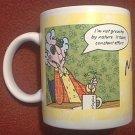 HALLMARK MAXINE MUG ~ Grouchy -Breakfast in Bed ~Funny
