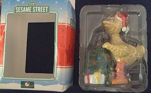 KURT ADLER~BIG BIRD~SESAME STREET~CHRISTMAS TREE~ORNAMENT~1998