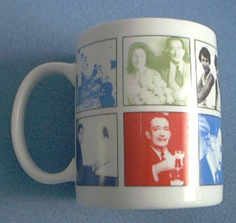 SALVADOR DALI~ART MUG~DALI MUSEUM 2004 CELEBRATING CENTENNIAL~PHOTOS