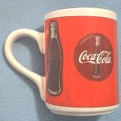 COCA-COLA ADVERTISING MUG ~ BOTTLE~SIGN~1997
