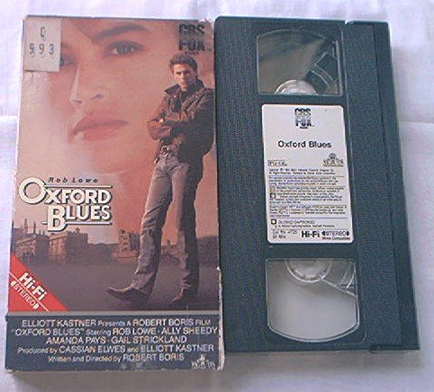 OXFORD BLUES~VHS~ROB LOWE~ALLY SHEEDY~AMANDA PAYS~1984~HARD TO FIND