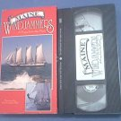 MAINE WINDJAMMERS : PAGE FROM THE PAST~VHS~SCHOONERS~SHIPS~MAINE TRAVEL~HTF
