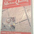 THE COMPLETE BOOK OF MACHINE QUILTING~SC BOOK~2ND ED.~FANNING~QUILT
