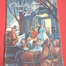 VINTAGE CHRISTMAS SONG BOOK ~1947~THEO PREUSS~MIXED VOICES
