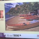 M BRADLEY BIG BEN JIGSAW PUZZLE~ 1000 PCS~ DOMINICA, WINDWARD ISLANDS ;L. ANTILLIES~COMPLETE