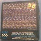 SPRINGBOK STAR TREK 3-D JIGSAW PUZZLE ~500 PCS--COMPLETE~KEEPSAKE ORNAMENTS