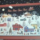 BITS AND PIECES 750 JIGSAW PUZZLE ~JOANNE CASE~SANTA ARRIVES~CHRISTMAS~COMPLETE~SNOW