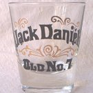 JACK DANIELS OLD NO 7 ADVERTISING SHOT GLASS