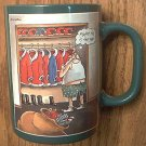 THE FAR SIDE MUG ~GARY LARSON~1989~MAYBE THIS IS THE YEAR~SANTA~CHRISTMAS~VERY HARD TO FIND