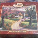 M BRADLEY ARTIST SERIES 750 PC JIGSAW PUZZLE ~RANDY VAN BEEK~APRIL MORNING~COMPLETE
