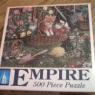 EMPIRE JIGSAW PUZZLE ~KITTEN CAPERS~CATS~NEW~FACTORY SEALED
