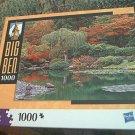 M BRADLEY BIG BEN JIGSAW PUZZLE ~SEATTLE WASHINGTON USA~COMPLETE~GARDEN