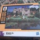 M BRADLEY BIG BEN JIGSAW PUZZLE ~MANNINGTON HALL NORFOLK ENGLAND~COMPLETE~HOUSE~GARDEN