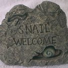 SNAIL ROCK HIDE-A-KEY GARDEN ORNAMENT