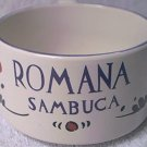 VINTAGE ROMANA SAMBUCA ADVERTISING CUP