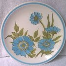 MIKASA CERA-STONE BLUE SONG SALAD PLATE ~7.5 IN ~JAPAN