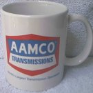 AAMCO TRANSMISSIONS ADVERTISING MUG ~RED-WHITE-BLUE