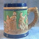 VINTAGE TAVERN SCENE MUG STEIN TANKARD ~MADE IN JAPAN~c.1950's