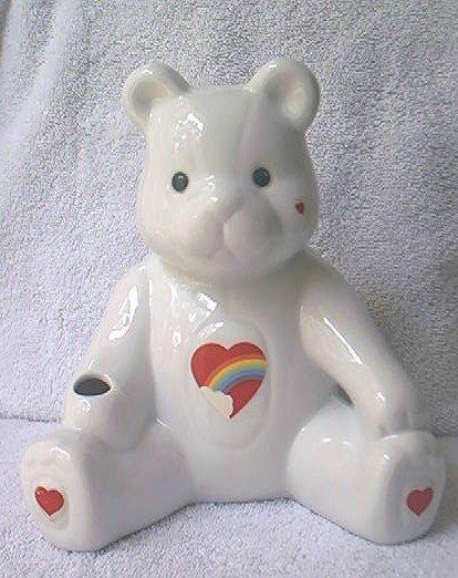 CARE BEARS ? TEDDY BEAR BANK  with RAINBOW HEART