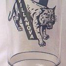GETTY PROMOTIONAL PREMIUM GLASS TUMBLER ~VILLANOVA~BIG EAST BASKETBALL~WILDCAT