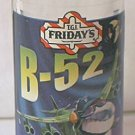 TGI FRIDAY'S ADVERTISING LIQUEUR SHOT GLASS ~ B-52~AIRPLANE W/TEETH