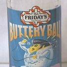 TGI FRIDAY'S ADVERTISING LIQUEUR SHOT GLASS ~BUTTERY BALL~ELVIS TYPE EGG