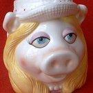 SIGMA MISS PIGGY  MUG ~MUPPETS~LOOKS LIKE HEAD VASE