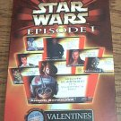 STAR WARS EPISODE I VALENTINES ~32 CARDS W/SEALS~R2D2~C3PO~MINT