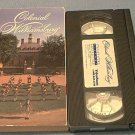 COLONIAL WILLIAMSBURG~VHS~TRAVEL~VIRGINIA~HISTORY~1993