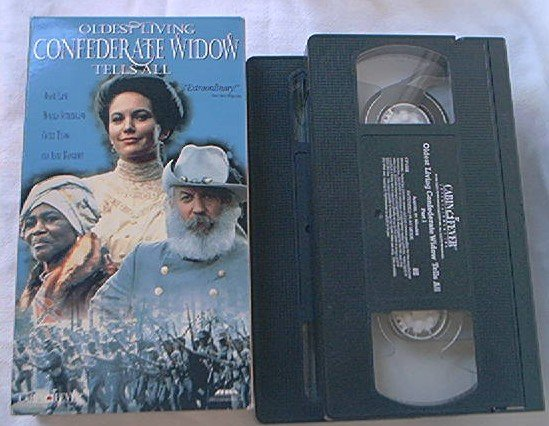 OLDEST LIVING CONFEDERATE WIDOW TELLS ALL~VHS~DIANE LANE, DONALD SUTHERLAND, CICELY TYSON~1994