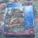 MEGA JIGSAW PUZZLE~ PUZZLE COLLECTION~RED GARDEN GATE~750 COMPLETE~B.MOCK