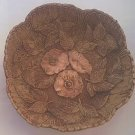 VINTAGE MULTI PRODUCTS ARTS AND CRAFTS STYLE FRUIT/NUT BOWL 1951