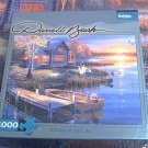 BUFFALO GAMES JIGSAW PUZZLE ~DARRELL BUSH~AUTUMN AT THE LAKE~1000~COMPLETE