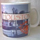 STARBUCKS COFFEE HOUSTON TEXAS MUG ~1999 COLLAGE~20 OZ