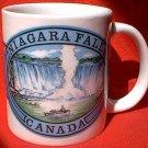 NIAGARA FALLS CANADA SOUVENIR MUG ~waterfall~boat