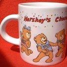HERSHEYS CHOCOLATE SMALL ADVERTISING MUG ~TEDDY BEARS
