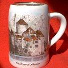 CHATEAU DE CHILLON SWITZERLAND SOUVENIR MUG STEIN