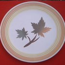 FASHION MANOR IRONSTONE MAPLE LEAF CHOP PLATE CAKE PLATE PLATTER~JAPAN~12 in