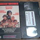 BREAKTHROUGH~VHS~ROBERT MITCHUM, RICHARD BURTON, ROD STEIGER~1979 RARE