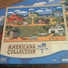 MEGA AMERICANA COLLECTION JIGSAW PUZZLE ~ANTHONY KLEEM~HATTERAS FLIGHT~500 PC COMPLETE