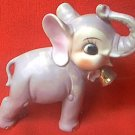 VINTAGE DUMBO JUMBO CIRCUS ELEPHANT FIGURINE ~JAPAN~ DISNEY?~GOLD TRIM~5.75 in~2nd