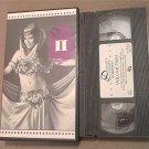 DELILAH'S BELLY DANCE WORKSHOP VOLUME 2~VHS~80 MINS. INSTRUCTION