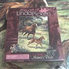 THE ART OF LINDA PICKEN 500 PC JIGSAW PUZZLE ~MAMAS PRIDE~HORSE AND FOAL~COMPLETE