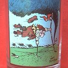 ARBY'S COLLECTOR SERIES PROMO GLASS ~1982~DEDICATION~GOLF~GARY PATTERSON