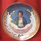 LARGE MERLE NORMAN COMMEMORATIVE PLATE ~10.75 in--GOLD TRIM