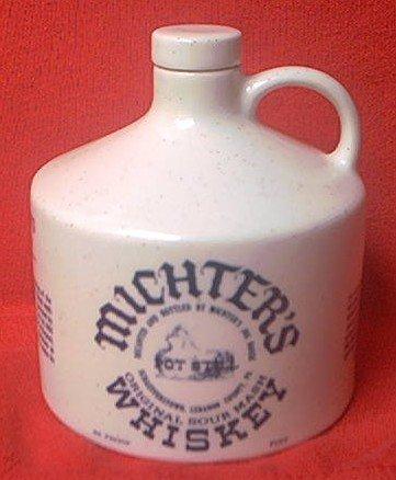 MICHTER'S SOUR MASH WHISKEY 1976 BICENTENNIAL COMMEMORATIVE JUG  ~PINT ~EMPTY